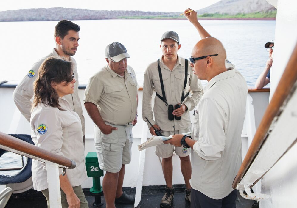 Expert Team on Silver Galapagos