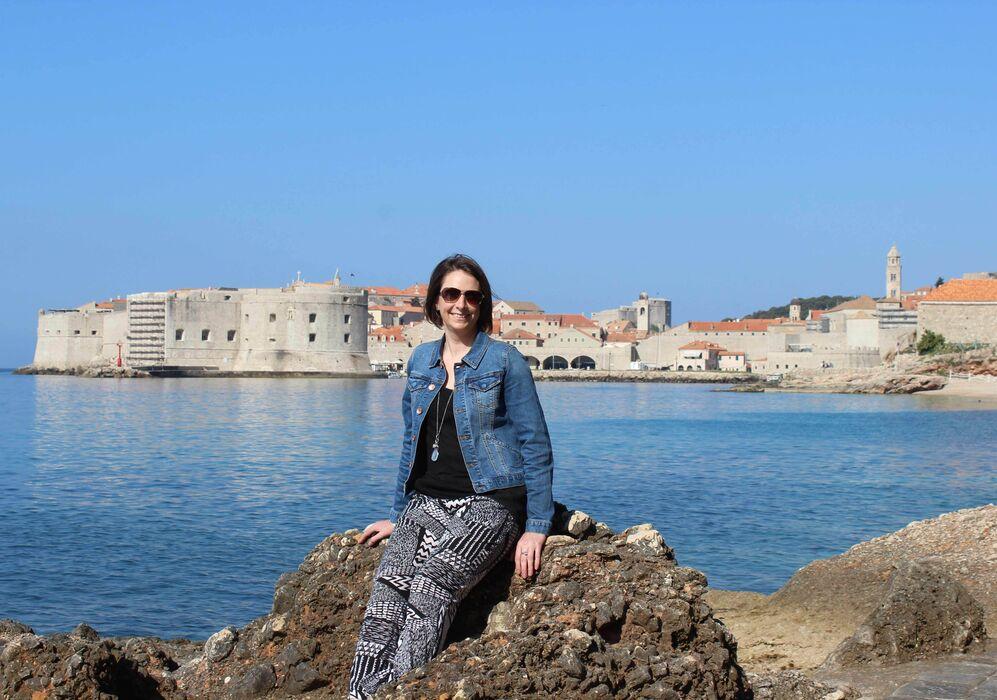 Caroline in Dubrovnik