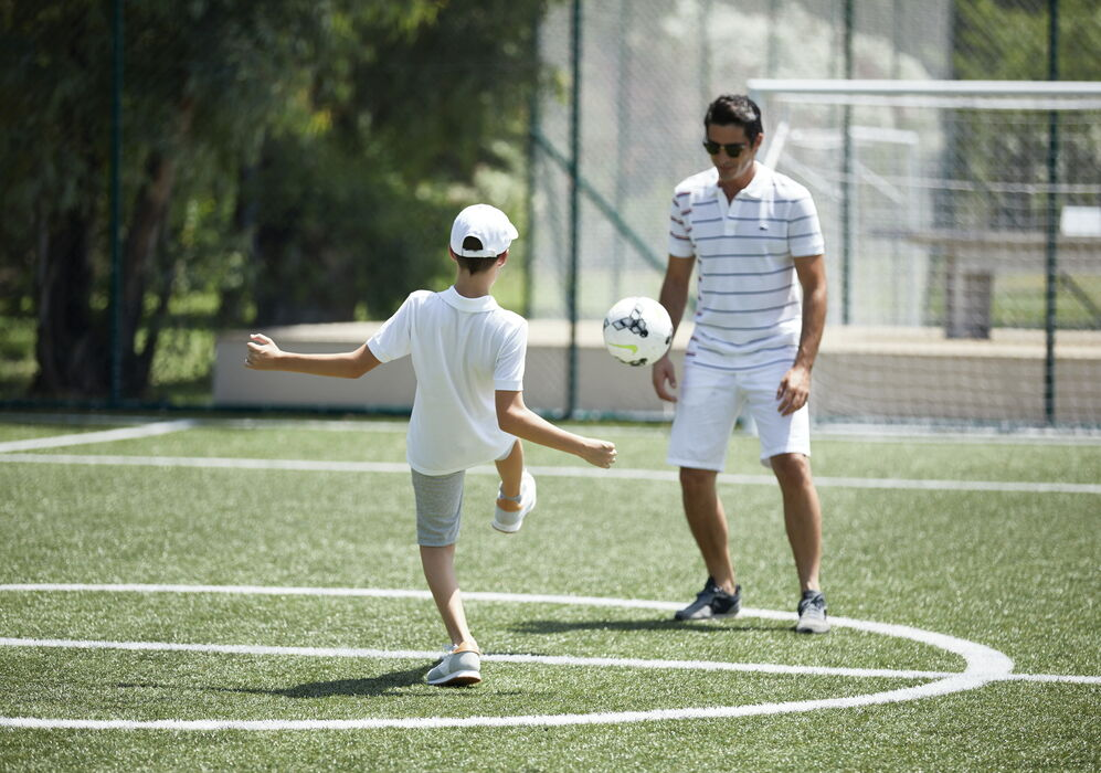 Football at Sani Resort