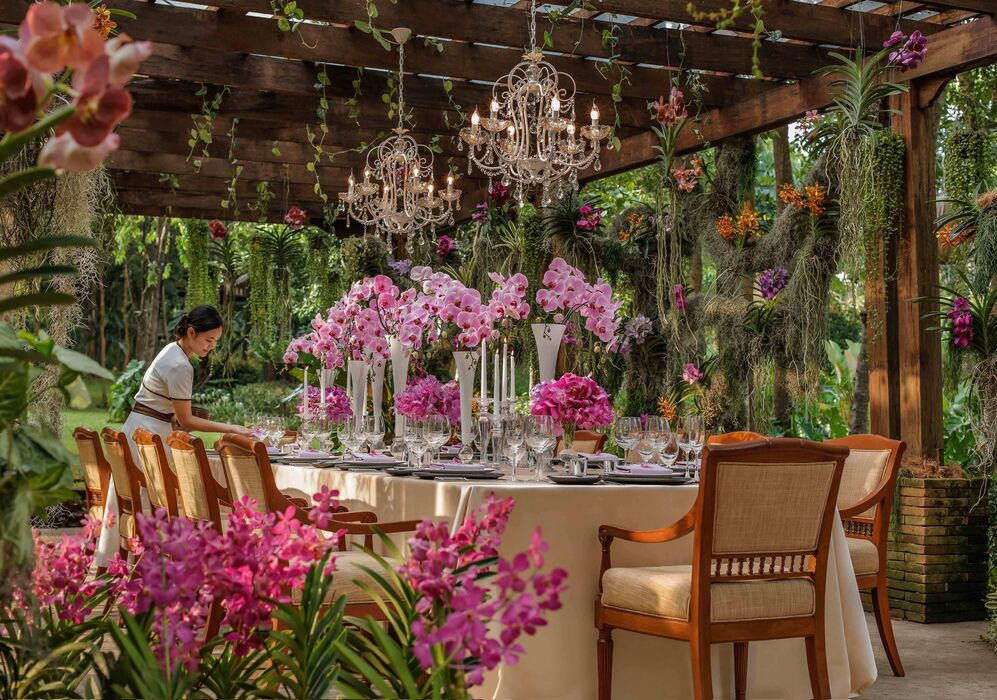 Orchid Garden at Four Seasons Resort Chiang Mai