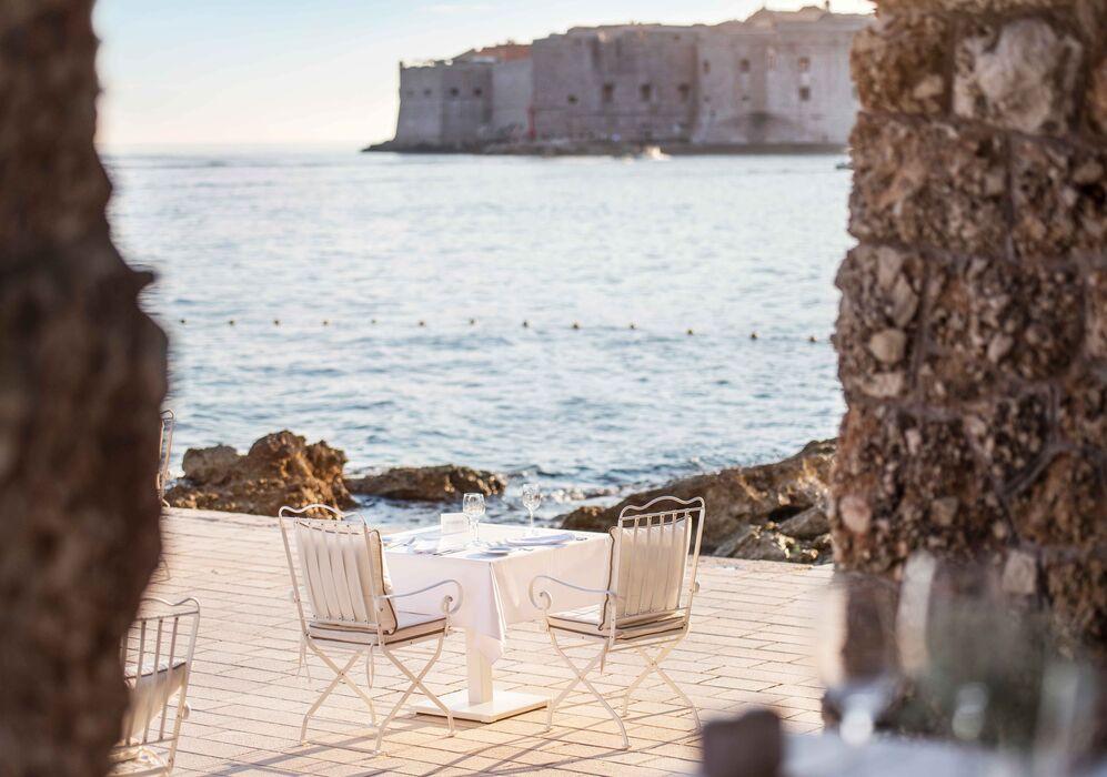 Prora Restaurant at Hotel Excelsior Dubrovnik