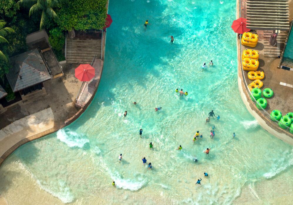 Waterpark at Sentosa, Singapore