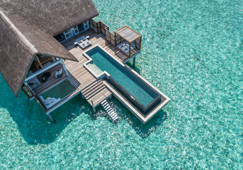 Water Villa at Four Seasons Resort Maldives at Landaa Giraavaru