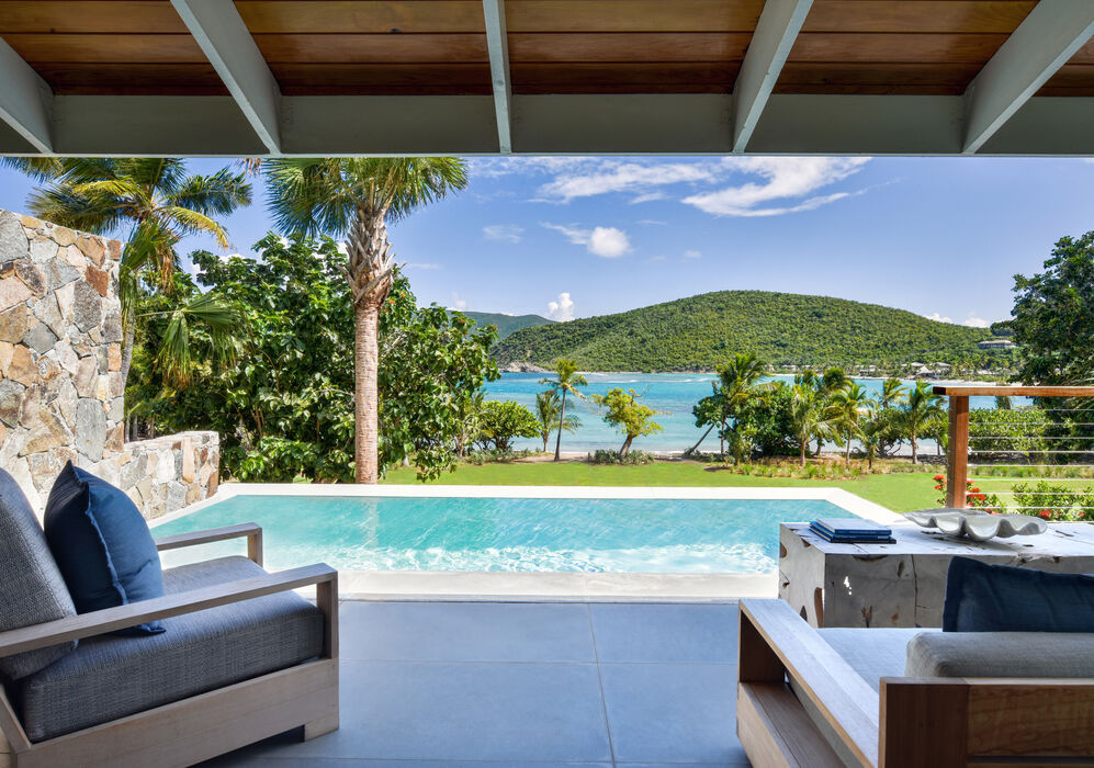 Pool Suite Terrace at Rosewood Little Dix Bay