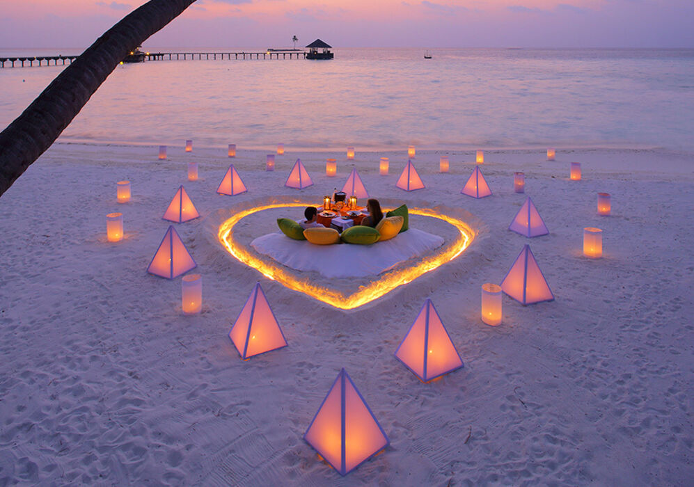 Beach Dinner at Gili Lankanfushi
