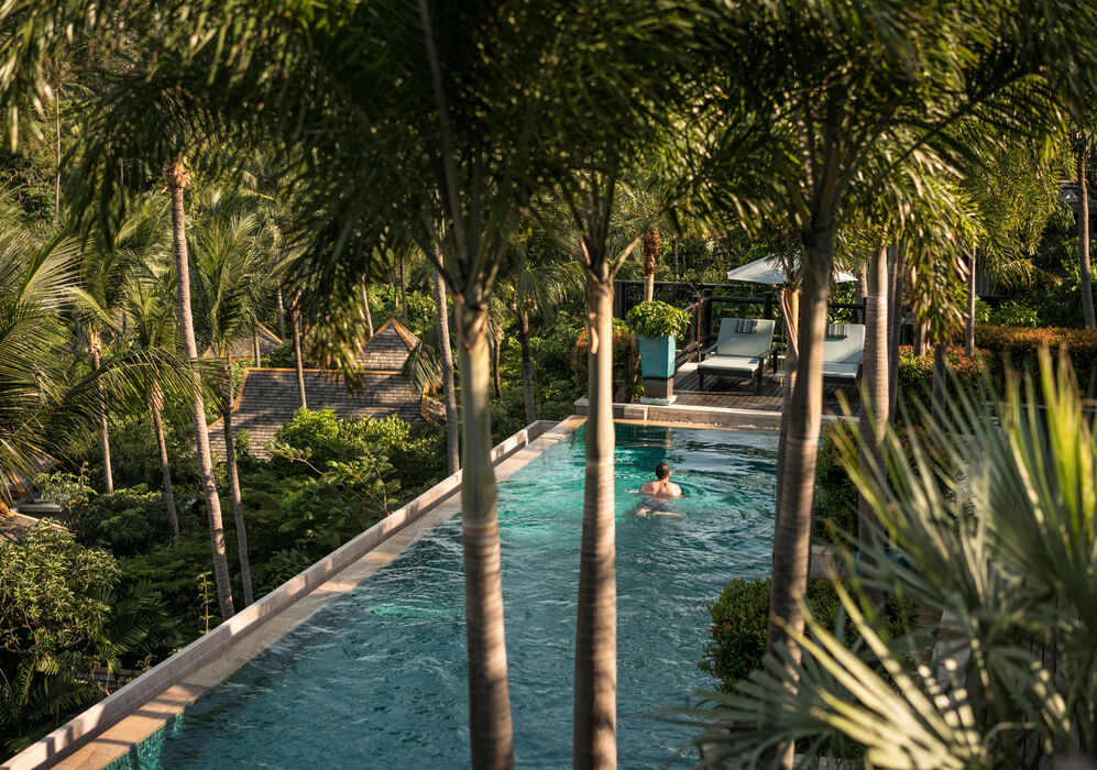Residence Swimming Pool at Four Seasons Resort Koh Samui