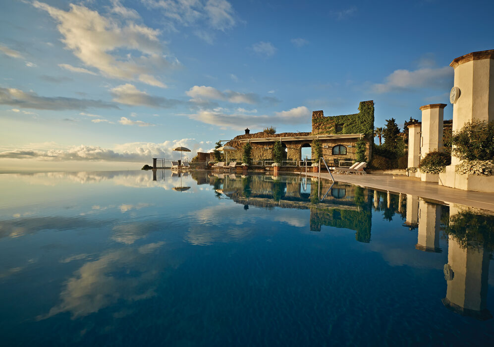 Infinity Swimming Pool at Belmond Hotel Caruso
