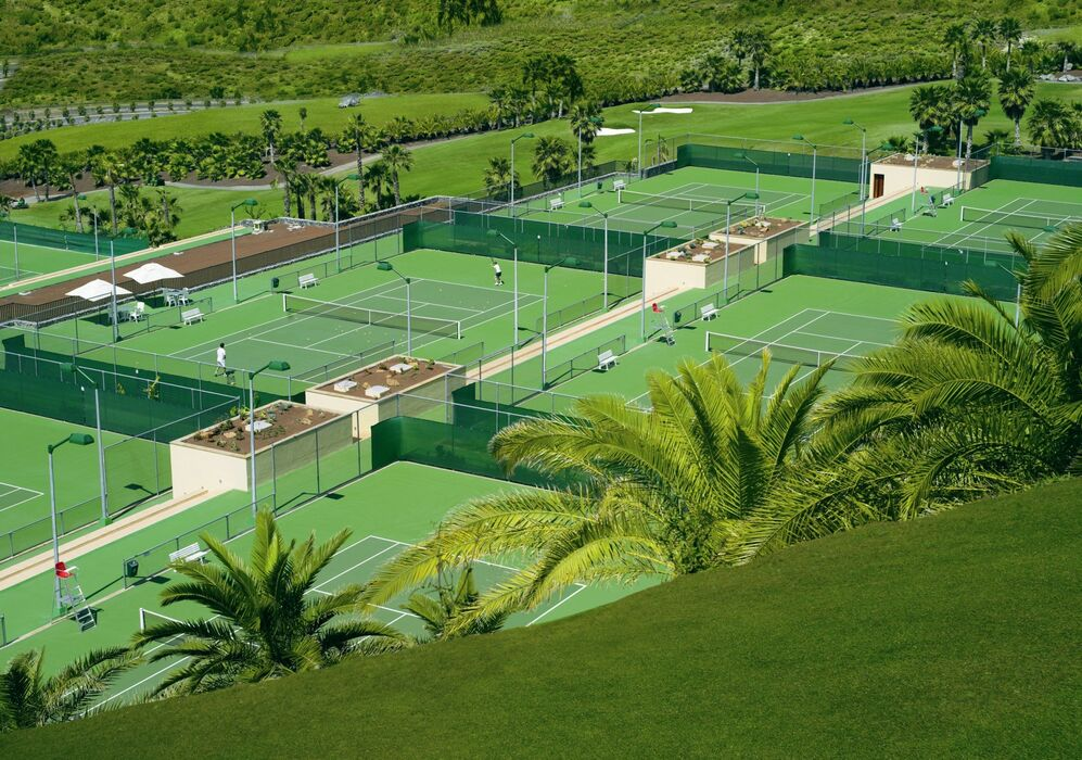 Tennis Courts at The Ritz-Carlton, Abama