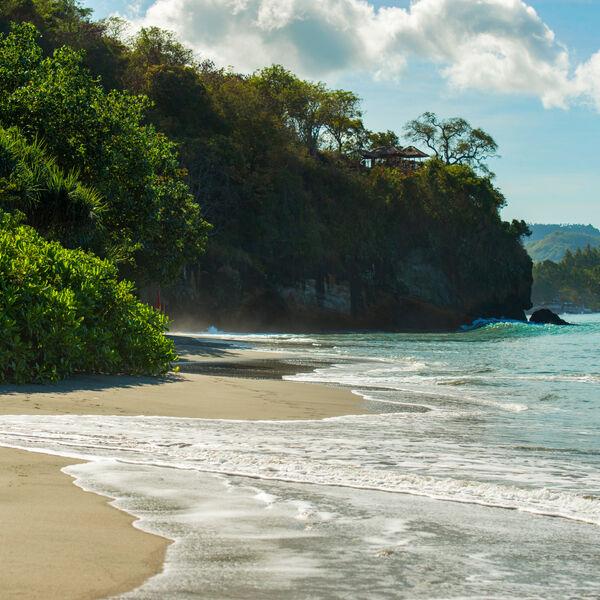 Beach at Amankila