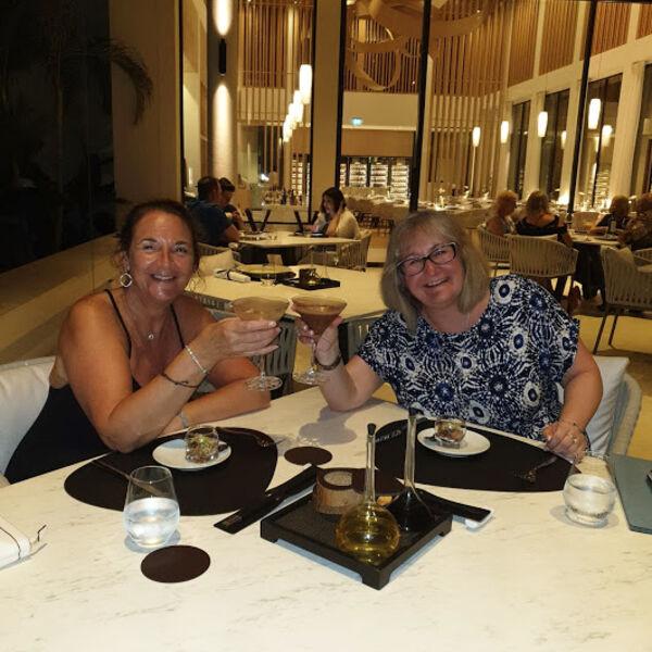 Dining at Asiatique