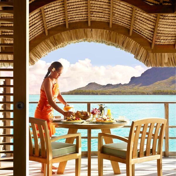 Villa Dining at Four Seasons Resort Bora Bora