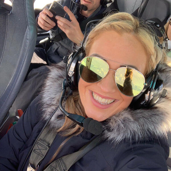 The helicopter flight of a lifetime