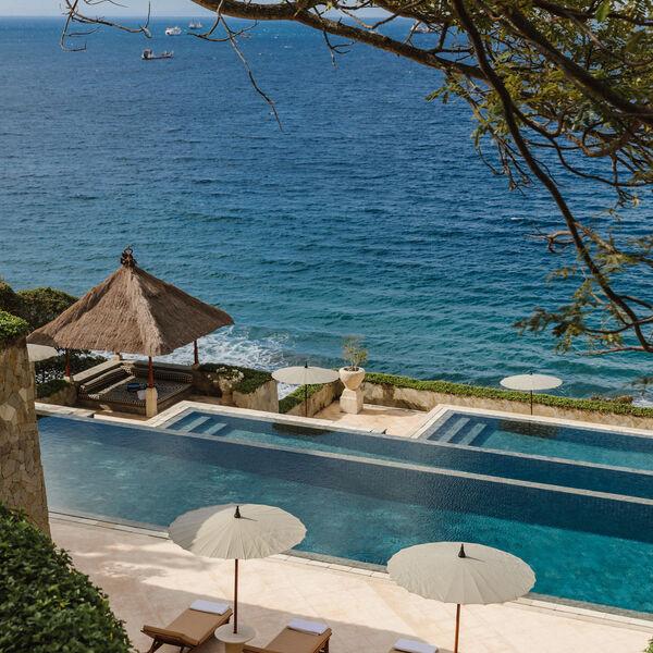 Infinity Swimming Pool at Amankila