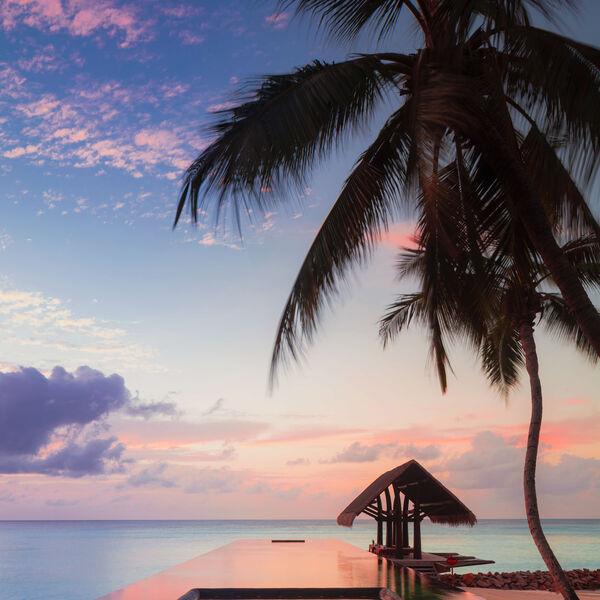Lap Pool at One&Only Reethi Rah, Maldives