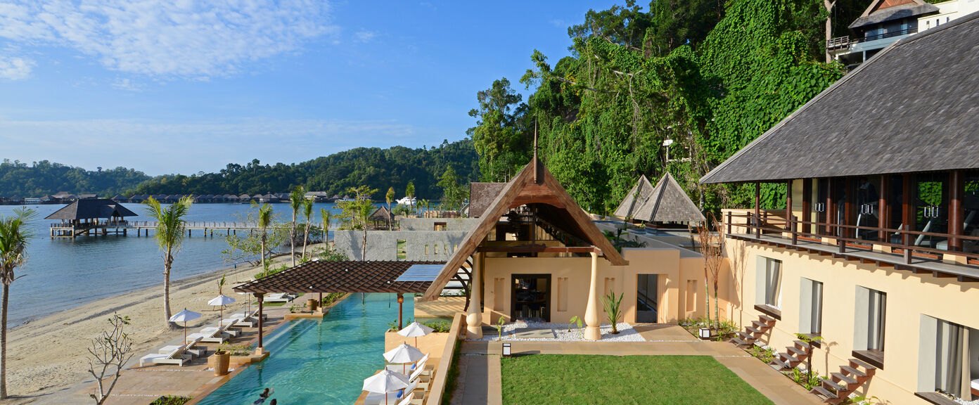 Borneo Race for the Rainforest Challenge with Gaya Island
