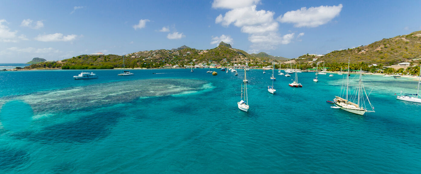 Luxury Yachting in the Grenadines