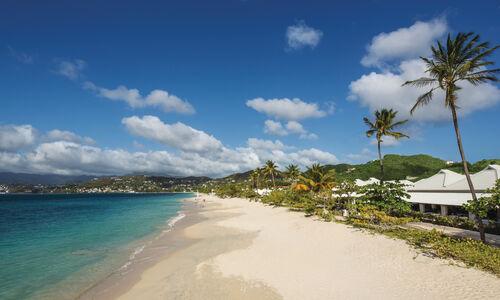 Beach life in Grenada