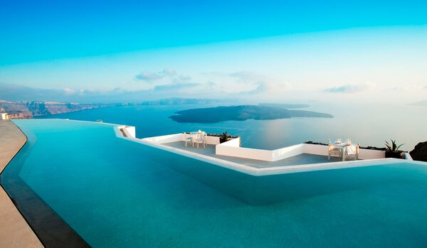 Infinity Pool And Blue Skies