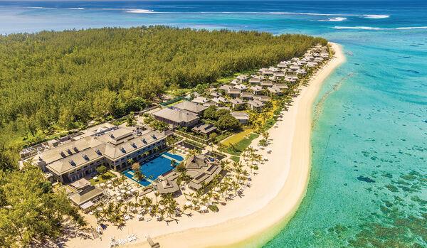 Aerial View of St. Regis Resort