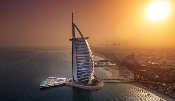 Burj Al Arab Terrace, Aerial View