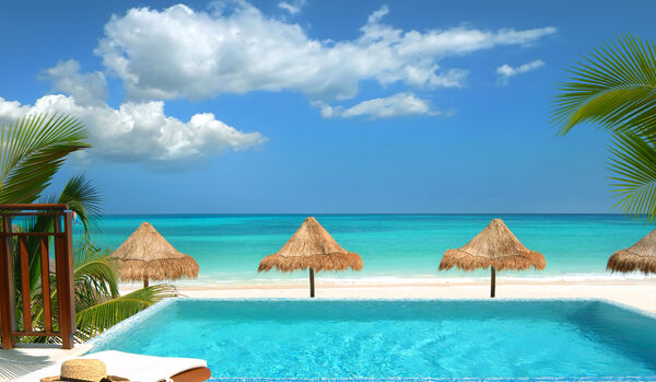 Oceanfront Casita Suite with Pool
