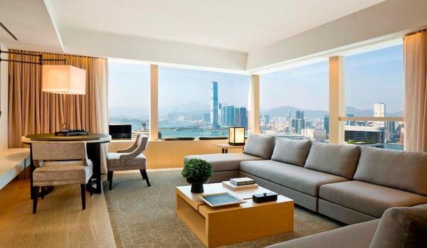 Upper Suite Living Room