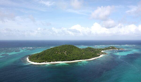 Aerial view Of Petit St Vincent