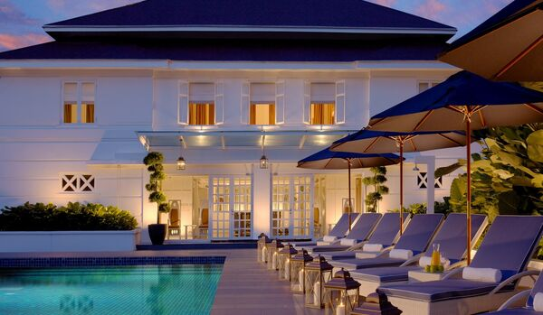 The Majestic Spa, Outdoor Pool