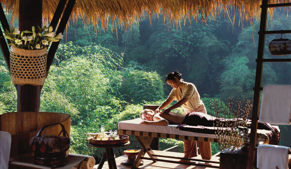 Four Seasons Tented Camp Golden Triangle: Treatment at the Spa