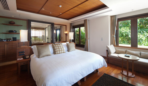 Bedroom In Ocean View Pool Villa