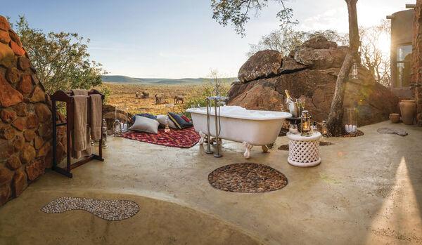 Honeymoon Suite - Outdoor Bath