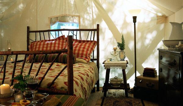 Deluxe Tent Interior