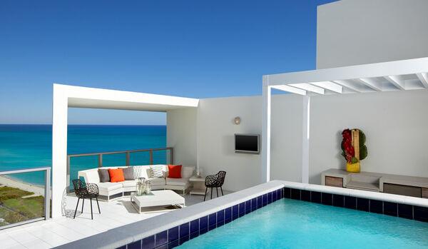 Penthouse Suite Rooftop Terrace