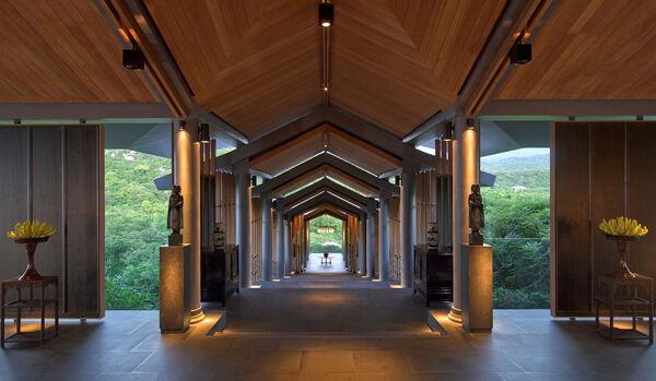 Central Pavilion Entrance