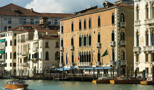 Exterior From The Grand Canal