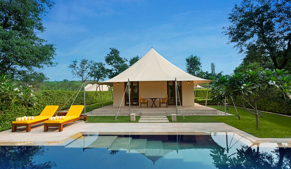 Royal Forest Tent With Private Pool