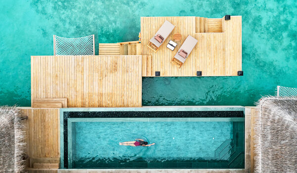 Three Bedroom Ocean Residence with Two Decks