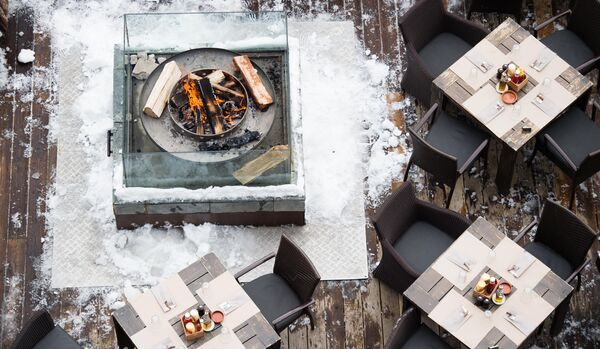 Portetta Hotel & Lofts: Fire and Ice