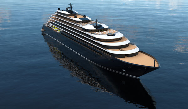 Yacht View - Rendering