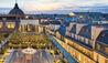 Mandarin Oriental, Paris : View Of Rooftop Terrace