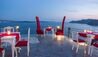 Andronis Boutique Hotel : Lauda Restaurant In The Evening