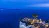 Andronis Luxury Suites : Lycabettus Restaurant At Night
