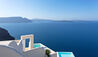 Canaves Oia Suites : Rooftop view to sea