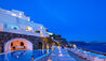 Canaves Oia Suites : Sun Terrace at Night