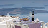 Grace Hotel Santorini, Auberge Resorts Collection : Table With View