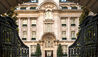 Rosewood London : Entrance With Wrought Iron Gates