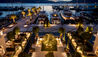 Regent Porto Montenegro : Italian Garden At Night