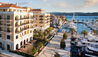 Regent Porto Montenegro : View Of Hotel From Marina