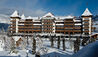The Alpina Gstaad : Exterior in Winter