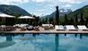 The Alpina Gstaad : Outdoor Pool